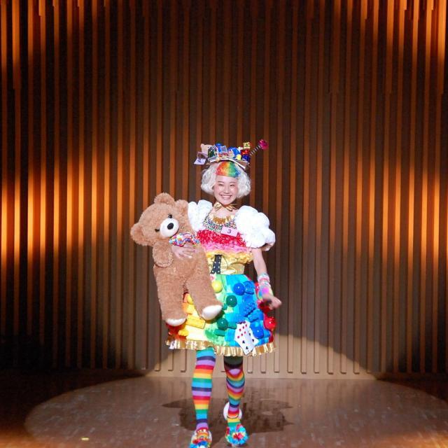 名古屋ファッション・ビューティー専門学校 Kawaii選手権公開リハーサルとブライダルヘアメイクショー2