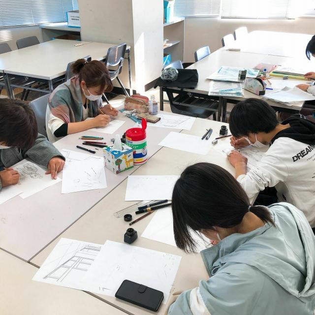 日本デザイナー芸術学院 名古屋校 オープンキャンパス20212