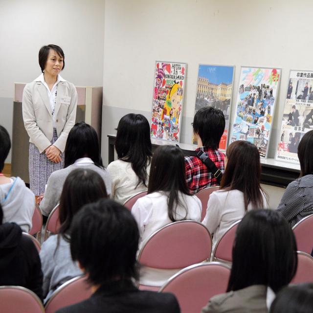 東京エアトラベル・ホテル専門学校 オープンキャンパス(1日コース)2
