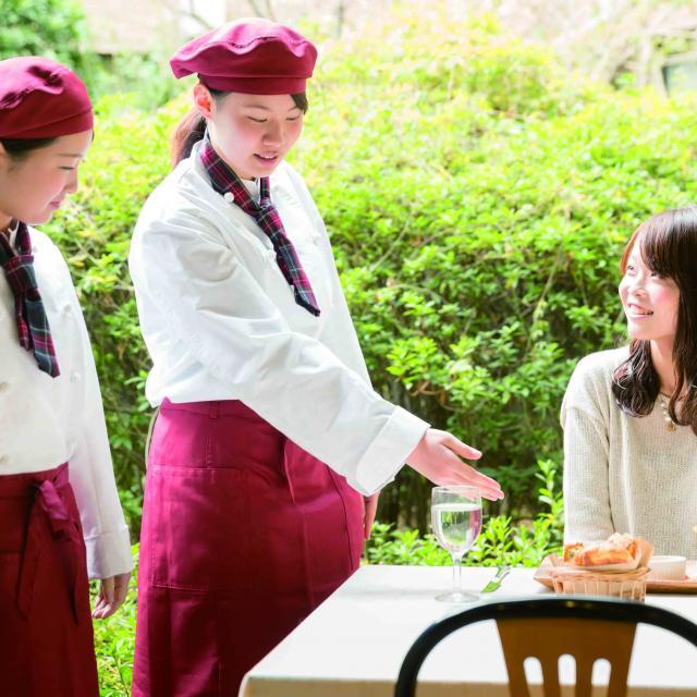 大阪城南女子短期大学 保育・福祉・食・ビジネスが良くわかるオープンキャンパス3