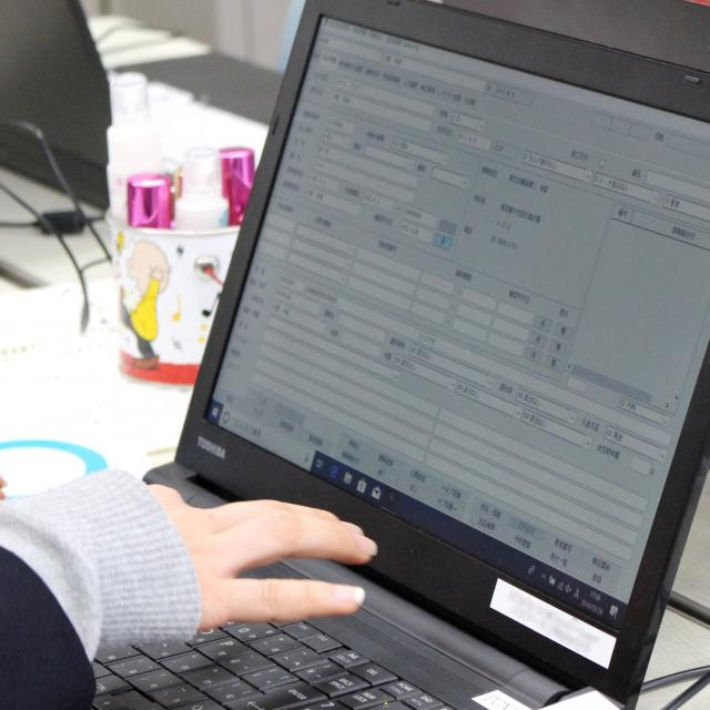 YICキャリアデザイン専門学校 「レセプトコンピュータを使ってみよう!」医療事務科1