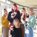 足利デザイン・ビューティ専門学校 ADBコラボ・美容:2019年のトレンドヘア。アレンジ体験