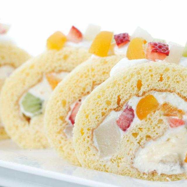 松本調理師製菓師専門学校 みんな大好き!フルーツロールケーキ♪1