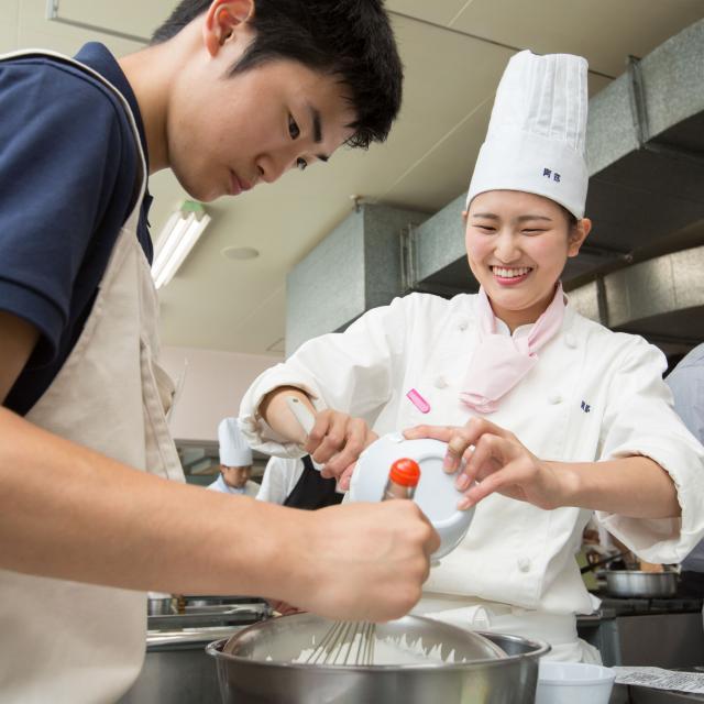 北海道中央調理技術専門学校 おいしいオープンキャンパス☆イタリア料理☆2