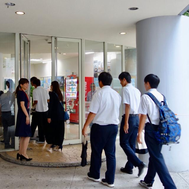 熊本電子ビジネス専門学校 オープンキャンパス(学校説明会)1