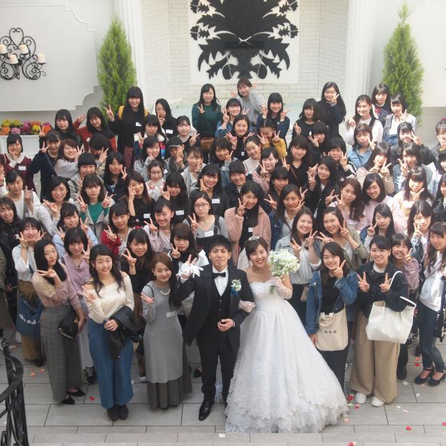 大阪ウェディング&ブライダル専門学校 【高校2年生限定】本物の結婚式場での模擬挙式イベント2