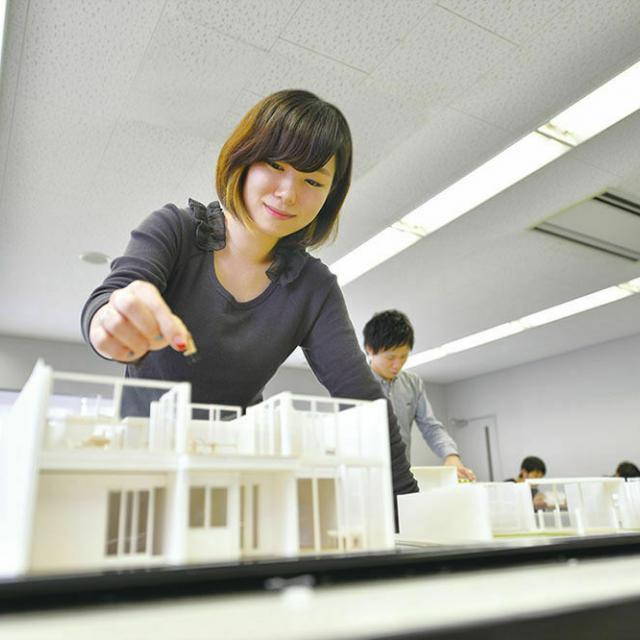 大阪デザイナー専門学校 【来校型】はじめてのインテリアデザイン講座2