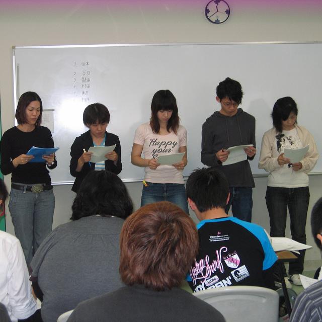 和歌山YMCA国際福祉専門学校 在校生レクチャーによる体験授業!1