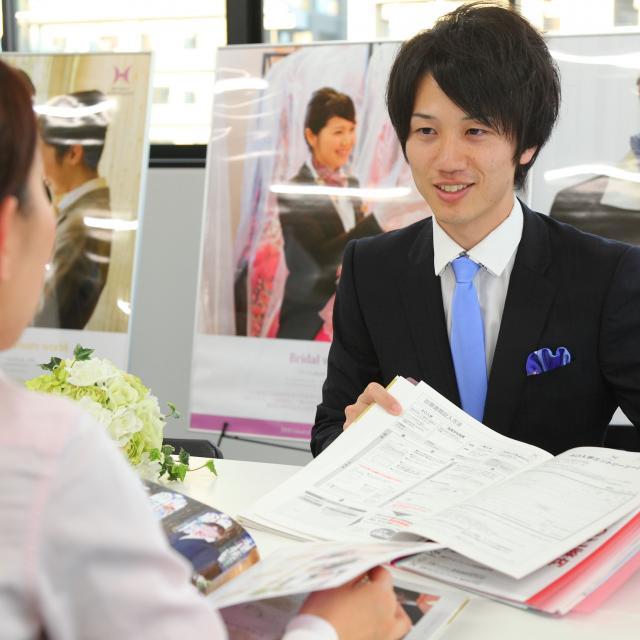 大阪ウェディング&ホテル・観光専門学校 学校見学会1