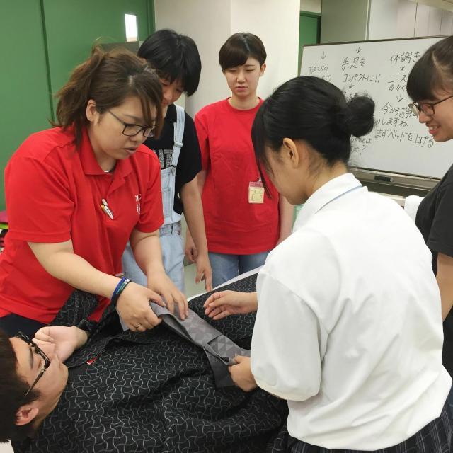 神戸医療福祉専門学校中央校 【介護福祉士科】オープンキャンパス1