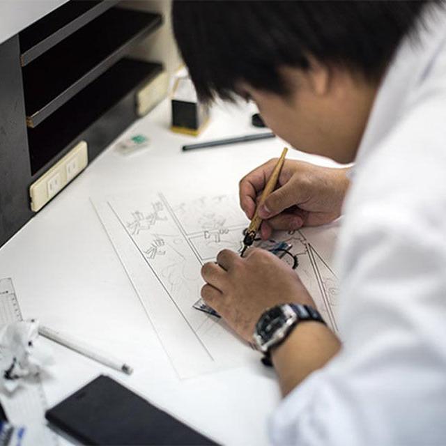 大阪デザイナー専門学校 はじめてのマンガ講座【体験入学】4