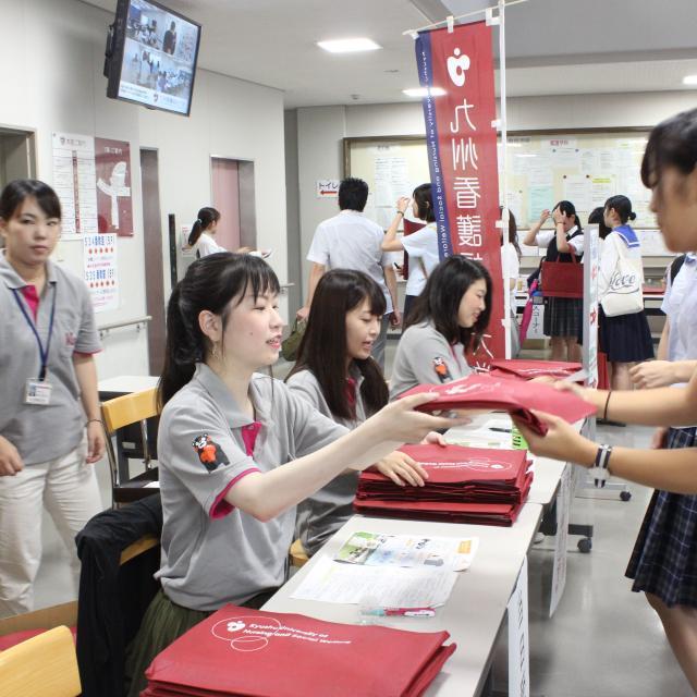 九州看護福祉大学 第1回オープンキャンパス開催!!(8月5日)3