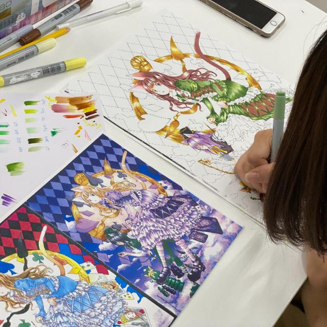 仙台デザイン専門学校 魅力的なキャラクターを制作!【キャラクターデザインコース】】1