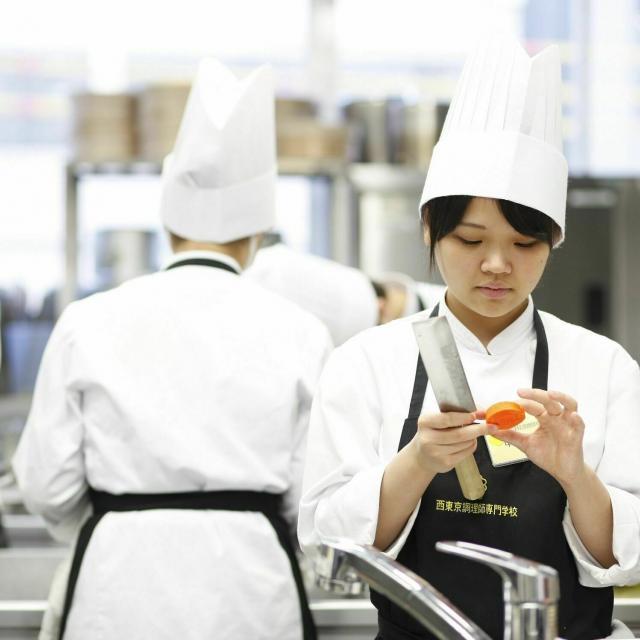 西東京調理師専門学校 体験入学「イタリアン/カボチャのニョッキ ボロネーゼソース」2