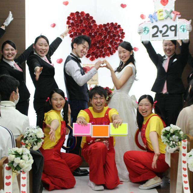 名古屋外語・ホテル・ブライダル専門学校 オリジナル結婚式を体験★~ブライダルプランナーコース~3
