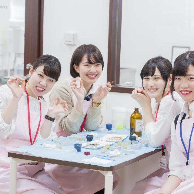 新東京歯科衛生士学校 【高校1.2年生限定】歯型の小物作り☆1