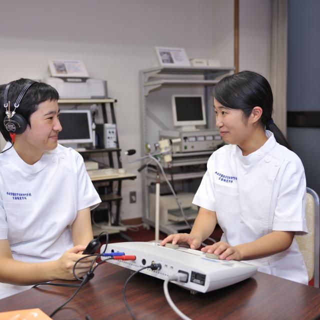 西武学園医学技術専門学校 東京池袋校 オープンキャンパス(言語聴覚学科)言語聴覚士のお仕事いろいろ2