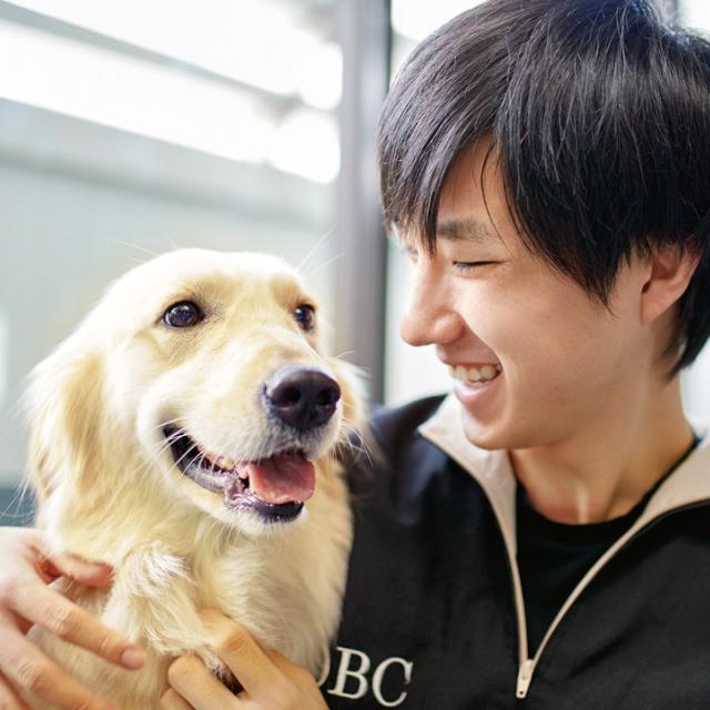 大阪ビジネスカレッジ専門学校 本気でワンコ遊ぼう!1