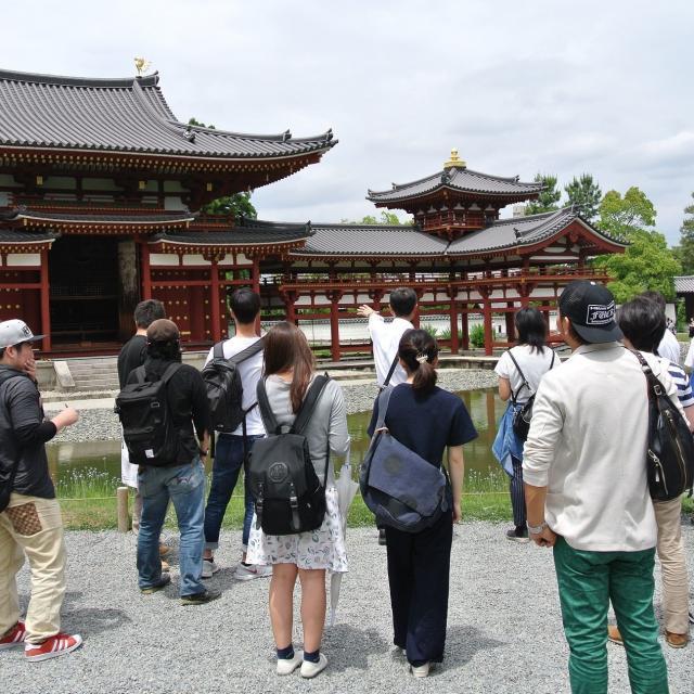 京都建築専門学校 オープンキャンパス+伝統建築物見学会1