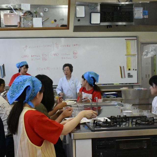 旭川大学短期大学部 【食物栄養学科】オープンキャンパス1