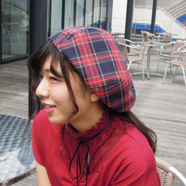 渋谷ファッション&アート専門学校 ワークショップ★帽子1