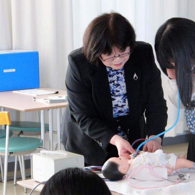 長野保健医療大学 大学説明会4