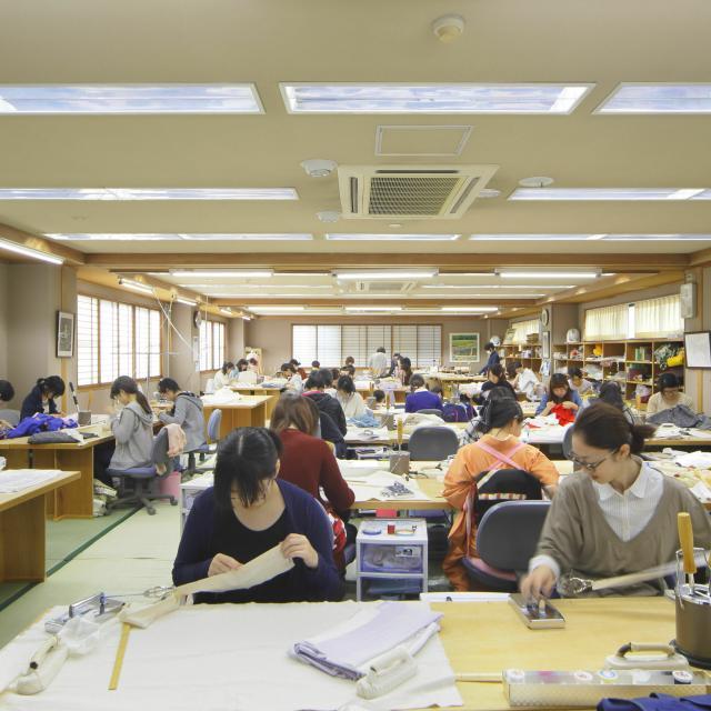 辻村和服専門学校 オンライン個別相談会(和裁、各種制度、卒業後の事等を知ろう)4