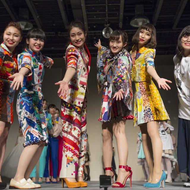 ドレスメーカー学院 【DOREME SELECTION 2019】卒業制作発表会☆彡1