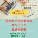 オンライン個別相談会の詳細