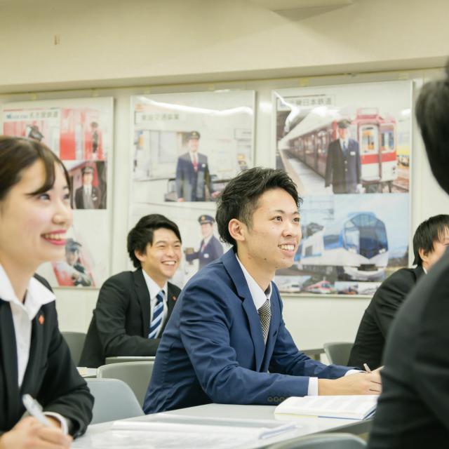 名古屋観光専門学校 【鉄道サービス学科】鉄道業界の就職対策にチャレンジ!1