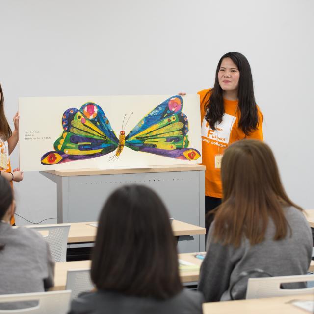 大阪健康福祉短期大学 子ども福祉学科★オープンキャンパス4