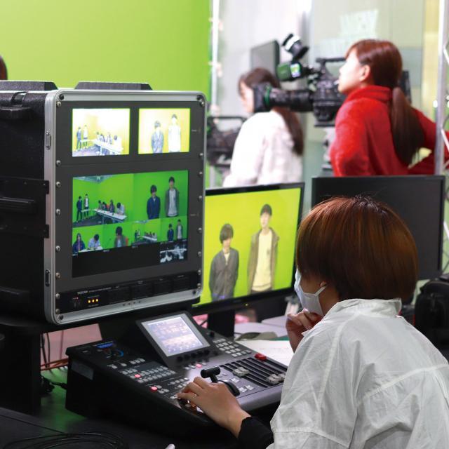 専門学校 九州ビジュアルアーツ 1月の体験入学(放送・映画・CG映像など)1