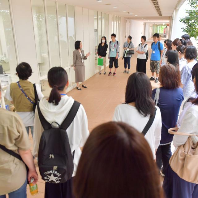 横浜薬科大学 オープンキャンパス4