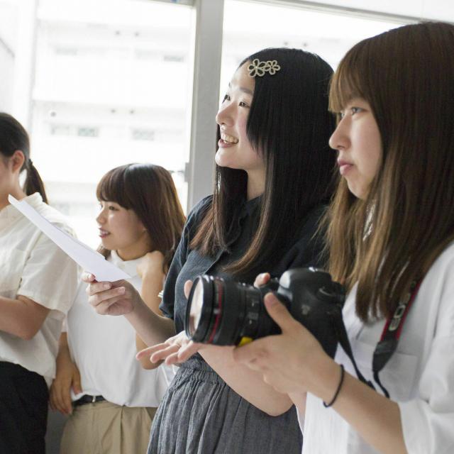 ビジュアルアーツ専門学校・大阪 写真学科 体験入学2