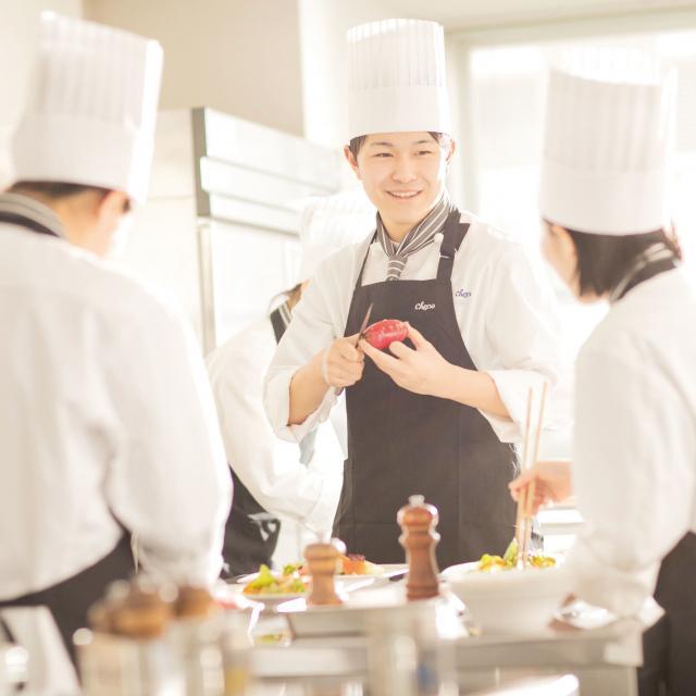 シェフパティシエ専門学校 ★調理師体験しよう♪シェパのオープンキャンパス★1