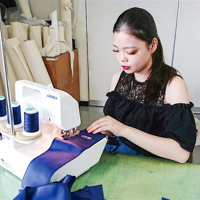 足利デザイン・ビューティ専門学校 ファッションデザイン科:ファッションショー作品製作を見学!1