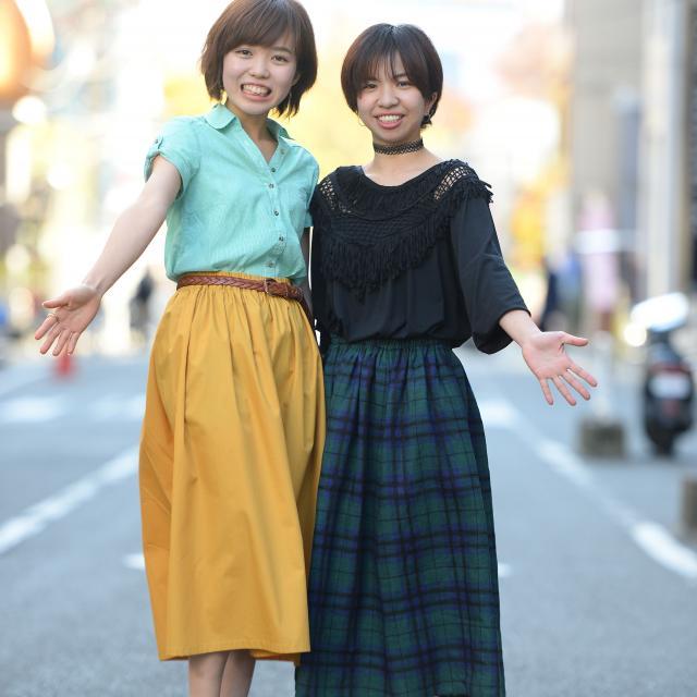 科別体験実習★スカート
