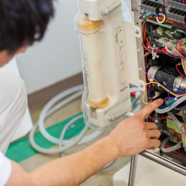 姫路医療専門学校 【臨床工学技士】地域医療に関わる! 呼吸のおしごと2