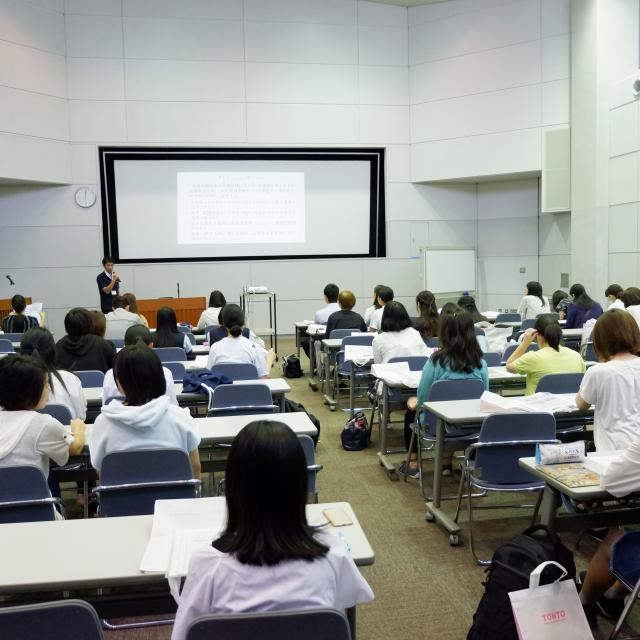 東都医療大学 2018年オープンキャンパス1