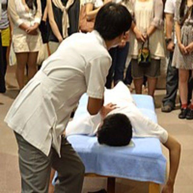 関西医療学園専門学校 【高校生の方へ】部活で役立つ指圧マッサージテクニック☆2