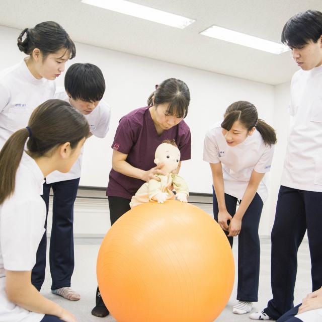 横浜リハビリテーション専門学校 横リハ体験授業3
