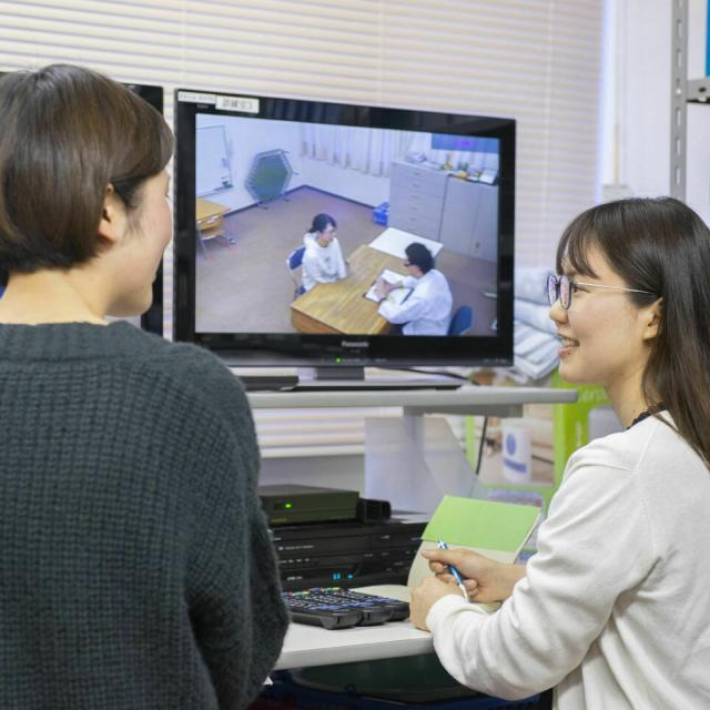 日本福祉教育専門学校 ことばの相談室見学会2