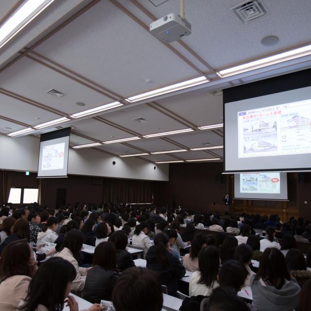京都女子大学 【京女のキャンパスライフを体験!】春のオープンキャンパス3