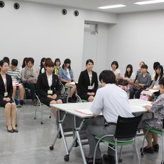 埼玉女子短期大学 推薦入試面接模擬&ミニ体験授業2