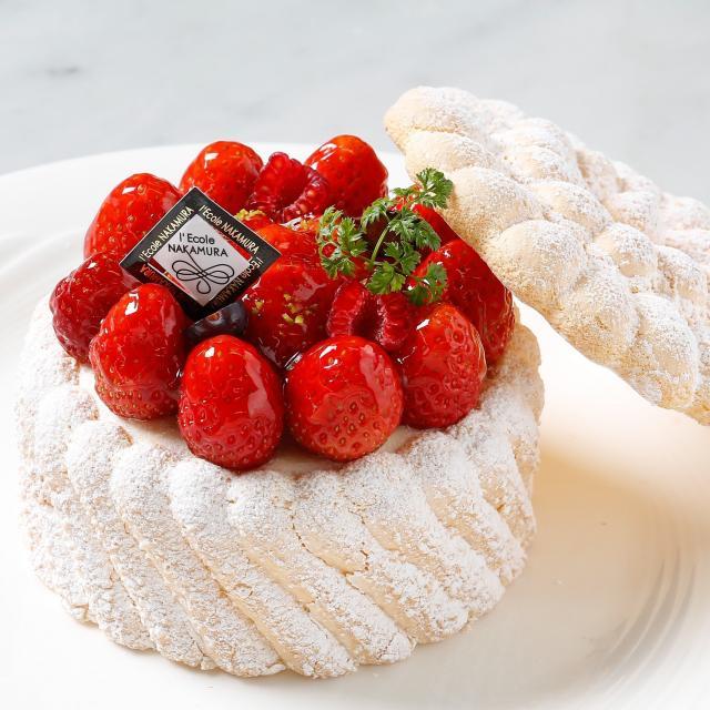 中村調理製菓専門学校 ◆リピーター限定◆ホールケーキに挑戦!苺のシャルロット1