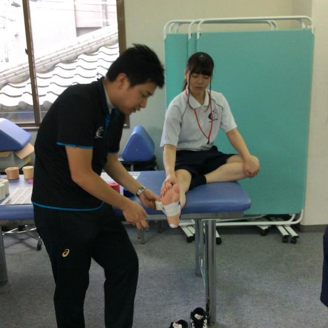 大阪社体スポーツ専門学校 ★スポーツトレーナー系体験入学★4