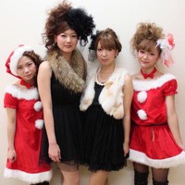 理容美容専門学校西日本ヘアメイクカレッジ Xmas オープンキャンパス1