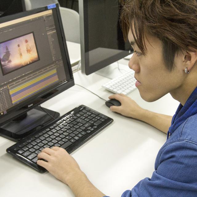 札幌マンガ・アニメ&声優専門学校 『アニメを仕事に』手掛けたアニメーションを世界へ!3