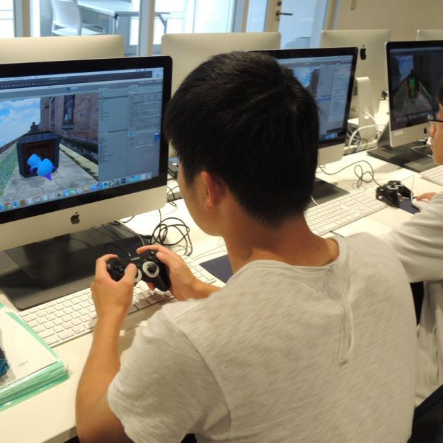 国際理工情報デザイン専門学校 【授業見学会】対象 : ゲームクリエイター科1