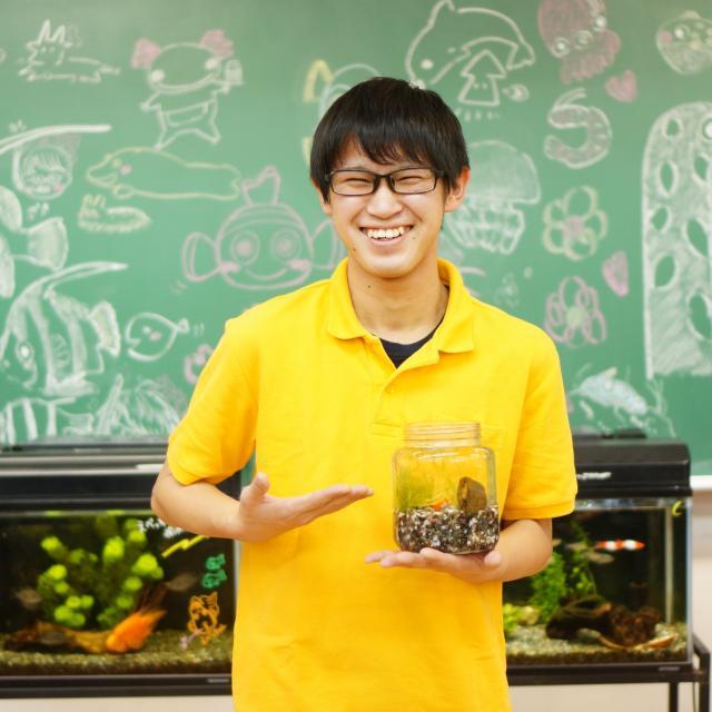 神戸動植物環境専門学校 【G:水族館アクアリスト★体験】珍しいサカナのエサやり&タッチ1